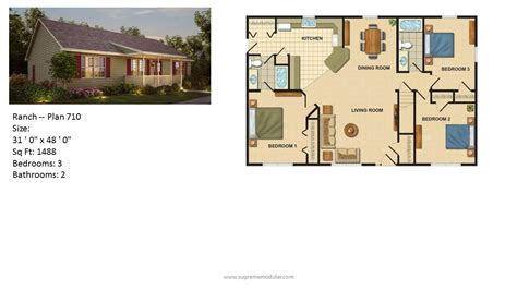 ranch home designs floor plans supreme modular homes nj modular home ranch plans
