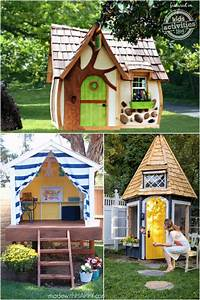 playhouse for kids 24 Outdoor Playhouses Kids Dream About