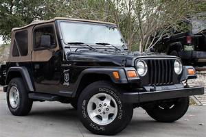 Used 2002 Jeep Wrangler Sport For Sale   12 995