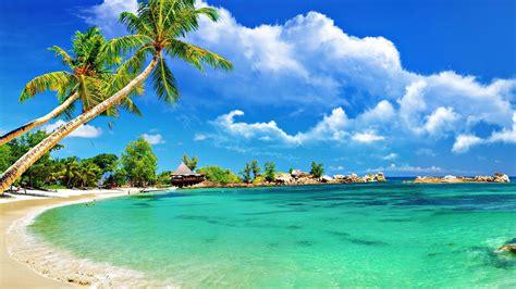 Karon Beach, Thailand, A Beautiful Beach With Fine White