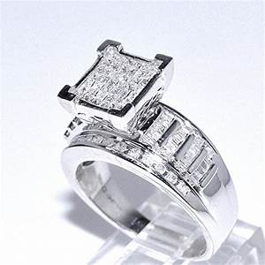 1cttw diamond wedding ring 3 in 1 style sterling silver With 3 in 1 wedding rings