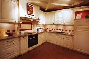 cuisine rouge et blanche photo 6 10 autre exemple de With cuisine blanche et rouge