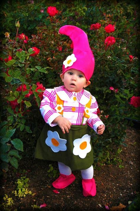 faschingskostueme babys gartenzwerg hut pink rock kariert