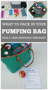 Breastmilk Storage Chart Printable A Perfectly Packed Pumping Bag Pumping Bag