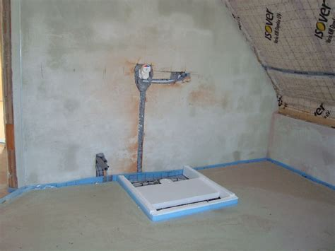 Fußbodenheizung Unter Dusche by Innenputz Fu 223 Bodenheizung Sanit 228 R Estrich Bautagebuch