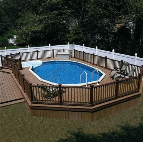 menards pool deck plans 1000 ideas about ground pools on above ground