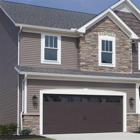garage door low provia vinyl siding options insulated decorative and