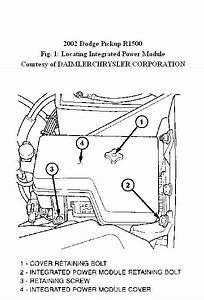 Code P1491 On Dodge  Location Of Radiator Fan Relay Circuit
