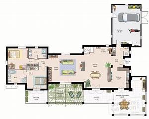 maison spacieuse 2 detail du plan de maison spacieuse 2 With plan de grande maison