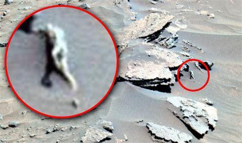 Aliens on Mars: Is NASA photo of 'alien statue' on Mars ...