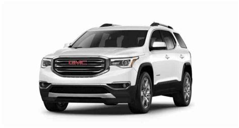 gmc acadia configurator  gm authority
