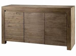 Meuble vasque teck 3 portes meuble salle bain meuble for Porte d entrée pvc avec meuble en teck pas cher salle de bain