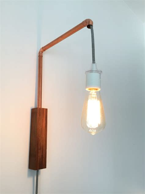 copper pipe wall sconce diy montreal