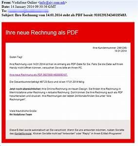 Rechnung Vodafone : trojaner warnung vodafone online rechnung mimikama ~ Themetempest.com Abrechnung