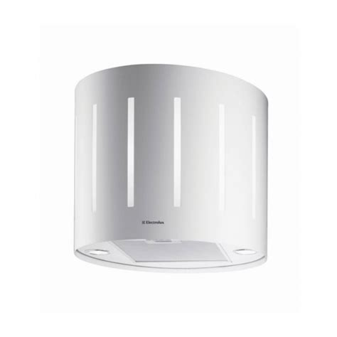hotte de cuisine electrolux hotte de cuisine aspirante ilot décorative lustre 49 cm blanc electrolux efl50555ow oskab