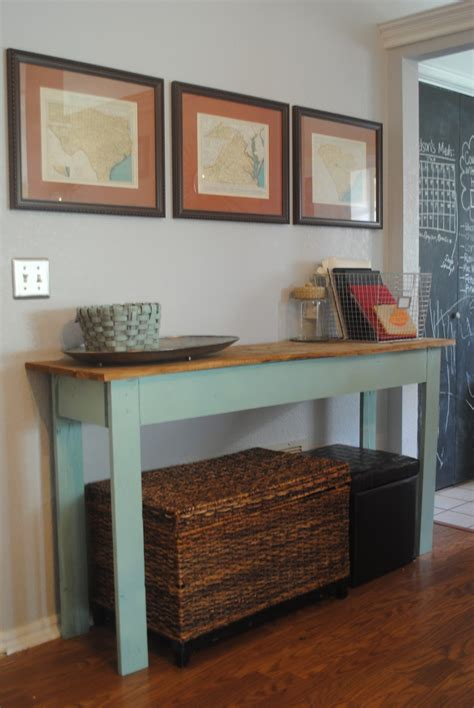 how to a console table preppy diy console table tutorial