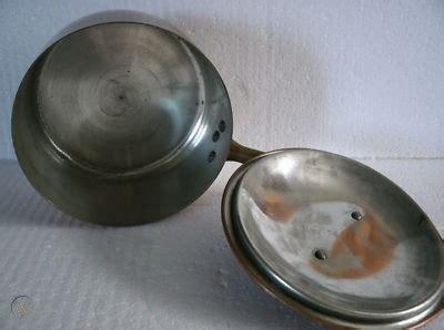 cobre vtg fantuzzi chefs copper cookware pan pot chile