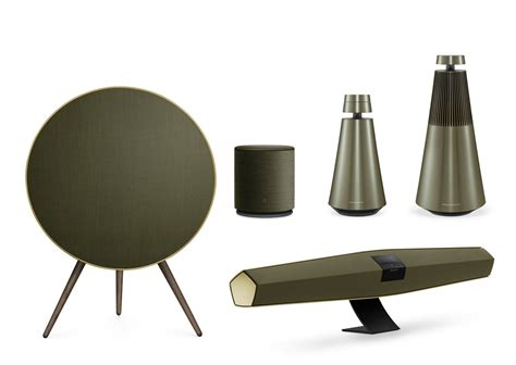 interiors home olufsen goes green with the harmonies collection