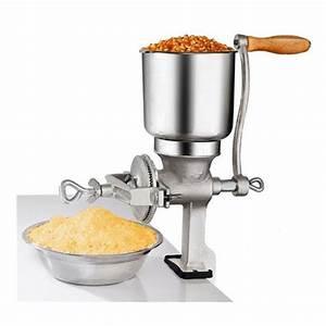 Corn Milling Machine Grain Crusher Manual Maize Peanut