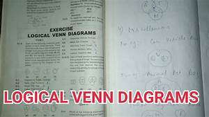 Logical Venn Diagrams  Explanation With Solved Exercise