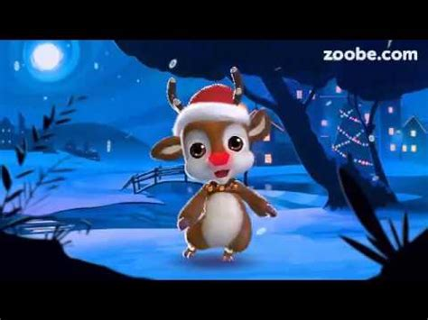 zoobe rudolph weihnachts und neujahrsgruesse youtube