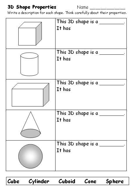 what am i naming 3d shapes support the learning of