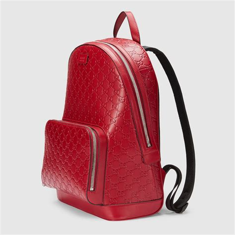 gucci signature leather backpack gucci mens backpacks cwccn