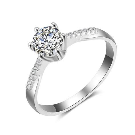 2018 price 1 carat diamond engagement ring gold wedding ring jewelry from rachel0424 50