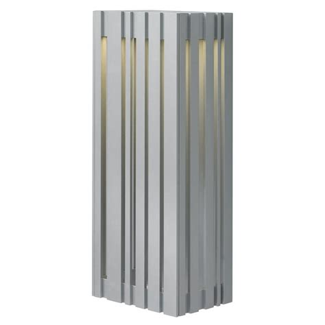 lbl lighting uptown 1 light bronze outdoor large led wall