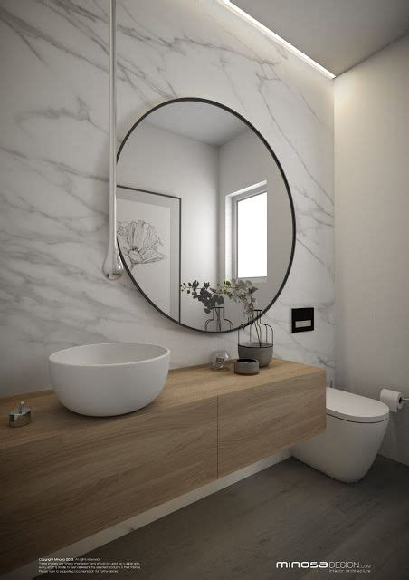 Modern Bathroom Mirror by Minosa Design Powder Room The Wow Bathroom Bathroom S