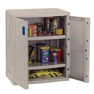 Suncast Outdoor Storage Cabinets With Doors Utility Storage Cabinet With 2 Shelves Taupe Blue Suc3600 Cozydays