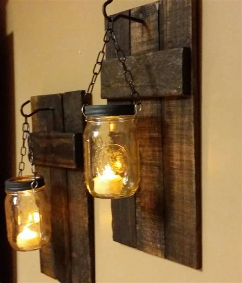 rustic wall candle holders rustic candle holder rustic decor by teestransformations