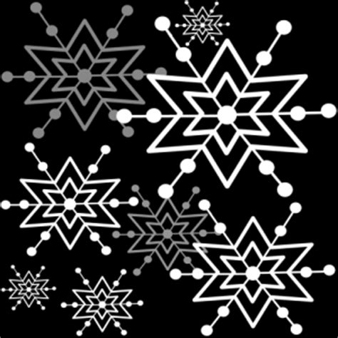 Snowflake Background Black And White by Black And White Snowflake Background Black And White