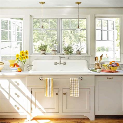 farmhouse kitchen ideas   budget pictures  september
