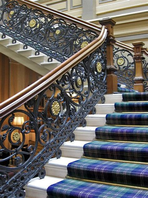 beautiful staircase   royal highland hotel inverness