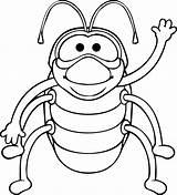 Bug Coloring Bill Deviantart sketch template