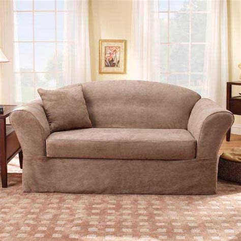 Sure Fit Logan T Cushion Sofa Slipcover by Discount Slip Covers Images Frompo 1