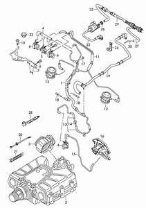 Audi Q7 3 0l Vacuum Hoses With Connecting Parts