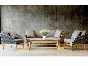 Lounge Auflagen Set : best gartenm bel set lounge gruppe samos 4 tlg inkl auflagen und 2 kissen eukaltyptus rope ~ Eleganceandgraceweddings.com Haus und Dekorationen