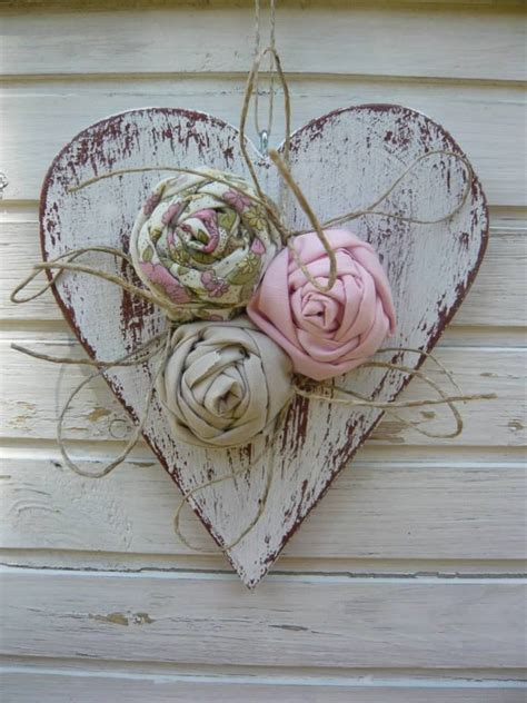 shabby chic wooden hearts 821eea5757db25a7e27a934e1921f4b1 jpg 720 215 960 pixels sweetheart pinterest shabby craft and
