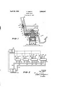 patent us2884047 barber chair patents