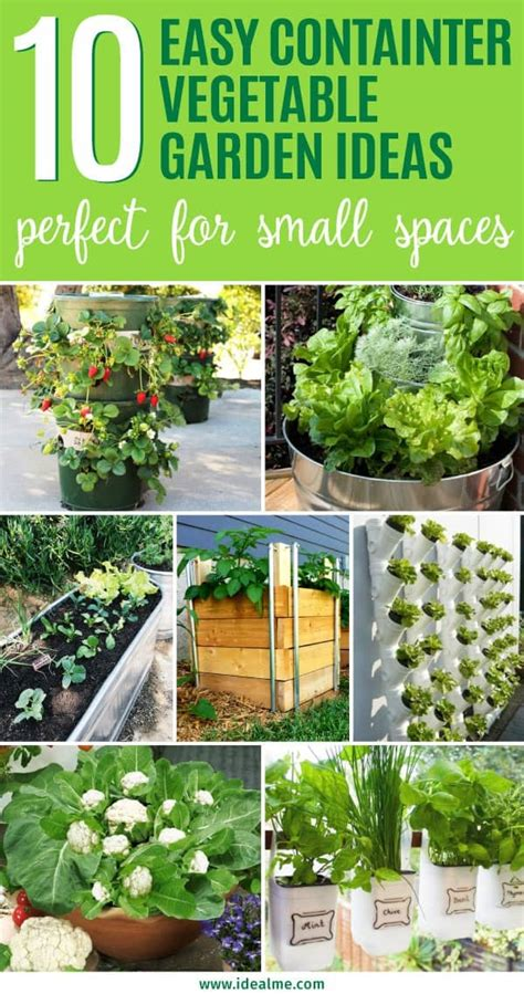 easy garden vegetables 10 easy container vegetable garden ideas for your yard