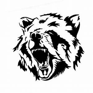 tribal bear | Tribal Bear-tattoo Design | drawings ...