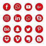 Social Icons Symbol Icon Transparent Copyright Vectors