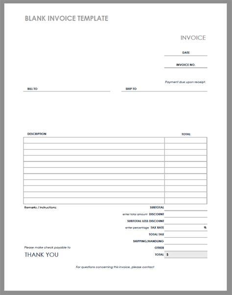 invoice templates smartsheet