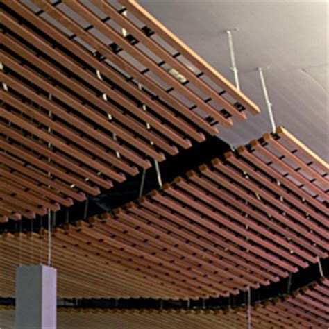WOOD GRID CEILING   Suspended ceilings from Hunter Douglas