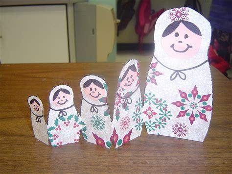 mrs t s first grade class russian matryoshka dolls