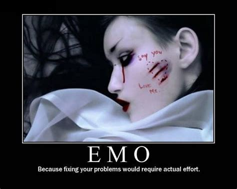 Funny Emo Memes - funny emo quote quote number 591058 picture quotes