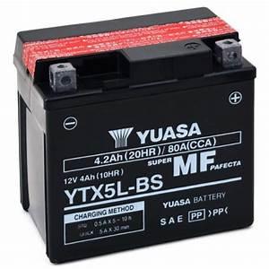 Batterie 12v 4ah : batterie moto yuasa 12v 4ah sans entretien ytx5l bs gtx5l bs batteries moto ~ Medecine-chirurgie-esthetiques.com Avis de Voitures