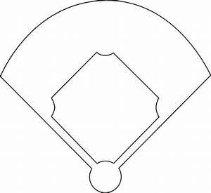 Baseball Diamond Template Printable